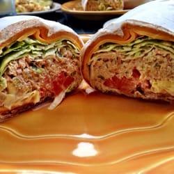 ... Restaurant - Whole wheat tuna melt wrap - New York, NY, United States