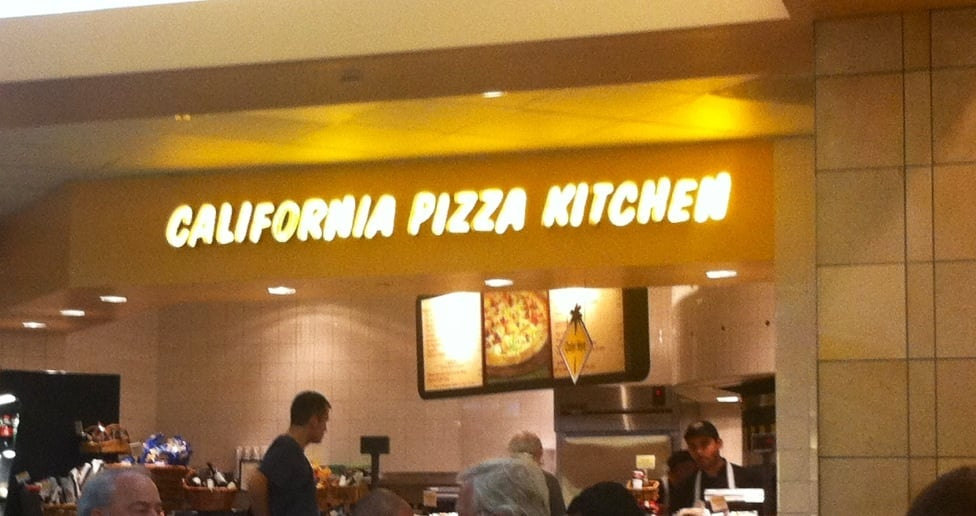 California Pizza Kitchen Express Pizza Westchester Los Angeles Ca United States