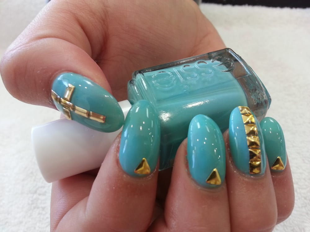 Studs metal nail art. | Yelp