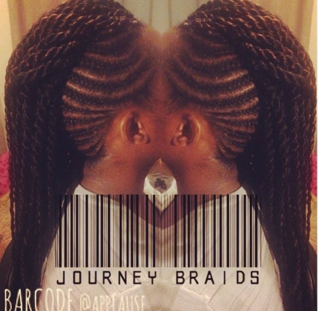 Crochet Hair Los Angeles : Journey Braids - Los Angeles, CA, United States. Mohawk with ...