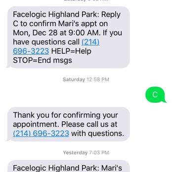 facelogic highland park dallas