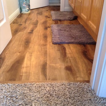 Lane s flooring tile martinez ca yelp - Waterproof vinyl flooring for bathrooms ...