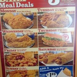 Popeyes chicken weekly deals