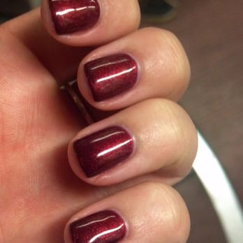 All Bright Nails & Spa - Shellac/Gel Manicure (color #50) - Allston