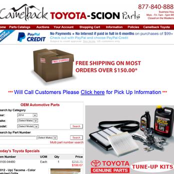 Camelback Toyota Car Dealers Phoenix Az Yelp