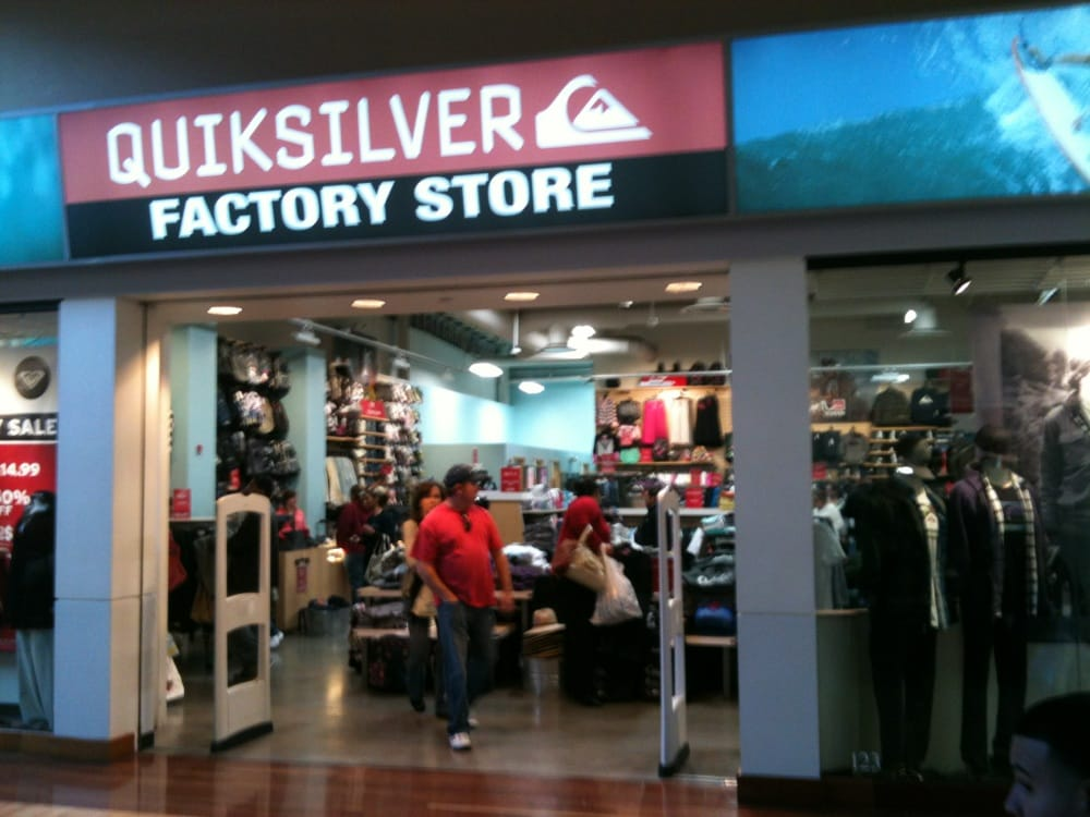 Quiksilver Factory Store, located at Sawgrass Mills®: From its beginnings four decades ago Quiksilver has been based on creativity, adventure, progression and freedom. As one of the world's leading outdoor sports lifestyle companies, we design, produce and distribute a diverse mix of apparel, footwear, accessories and related products for.
