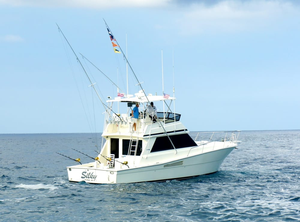Silky fishing charter fishing kailua kona hi yelp for Kona fishing charters