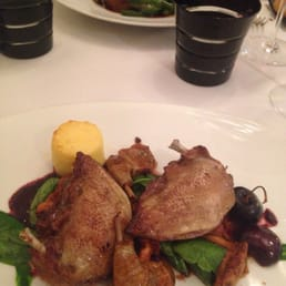 I ordered the pigeon. I've never had it before. It was unreal.