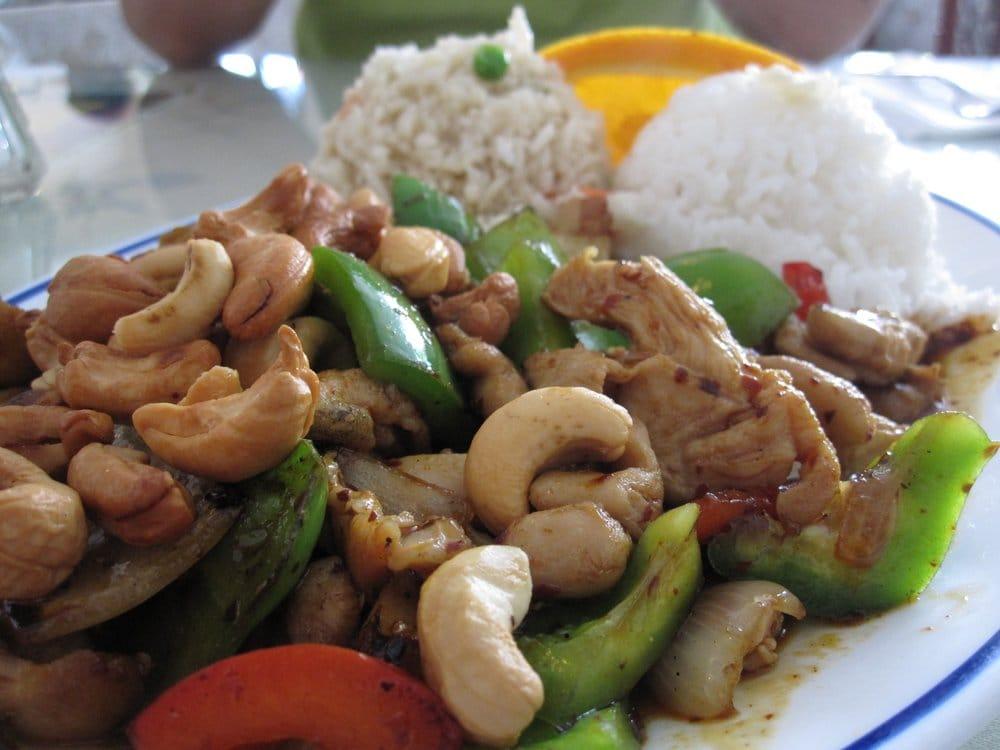 Spicy Chicken With Cashew Nuts Recipe — Dishmaps