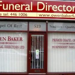 Owen Baker Funeral Directors, Manchester