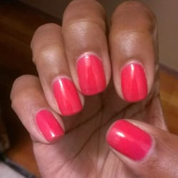 Uv gel manicure, one week Later. Can