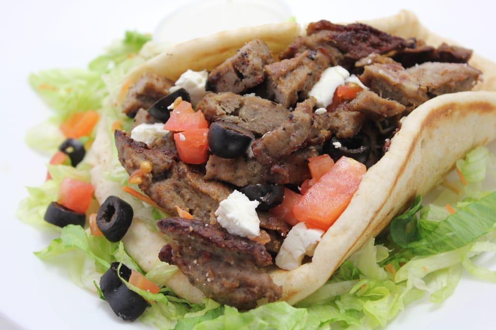 Gyro platter yelp for Ali baba cuisine