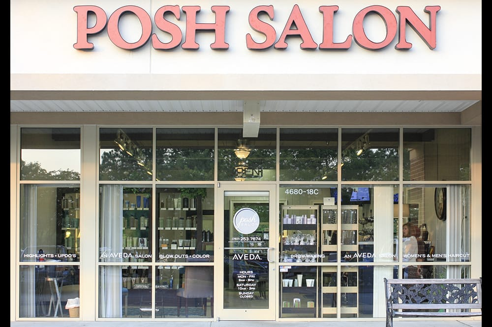 Posh salon hair salons williamsburg va united states for Salon n 6 orleans