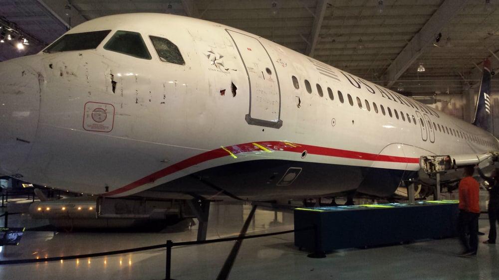 Carolinas Aviation Museum - Charlotte, NC, United States. The Miracle on the Hudson at the Carolinas Aviation Museum