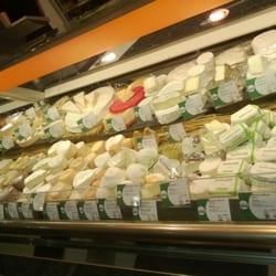 Le rayon fromages est une bénédiction...