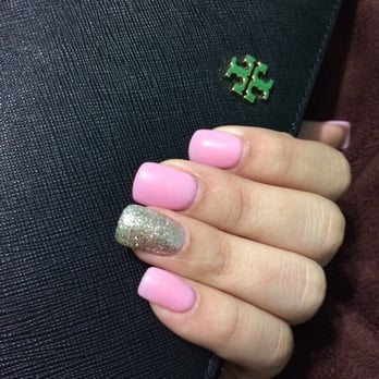 Full set nails gel or acrylic