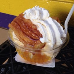 Page Dairy Mart - Pittsburgh, PA, United States. Cinnamon roll sundae ...