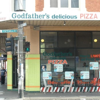 godfathers pizza pizza 437 sydney rd brunswick victoria australia reviews photos yelp. Black Bedroom Furniture Sets. Home Design Ideas