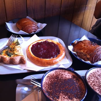 Nordic Bakery - Lingonberry tart, Cinnamon Rolls, Quiche, Mochas - London, United Kingdom
