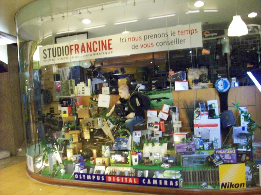 Studio francine camera shops brussels r gion de for Bd du jardin botanique 50 1000 bruxelles