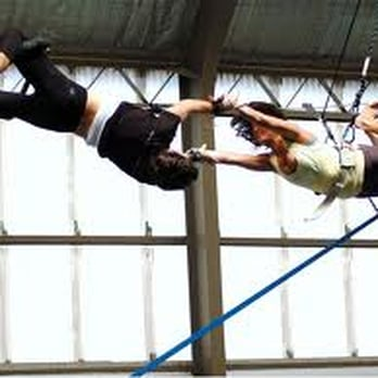 Sydney Trapeze School - St Peters New South Wales, Australie. Taken from their website