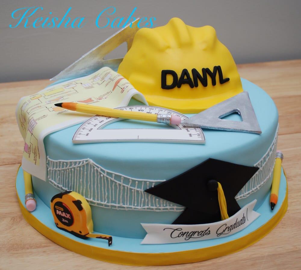 Cake Design For Civil Engineer : Civil engineer graduation cake. Everything is edible! Yelp