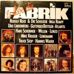 """Benefiz LP von 1977 """"Es lebe die FABRIK"""""""