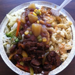 Belmont Vegetarian Restaurant - Pepper steak, veggie stew, Mac and cheese, steamed veggies - Worcester, MA, Vereinigte Staaten