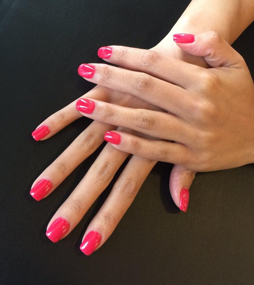 Gel Powder Dip Nails images