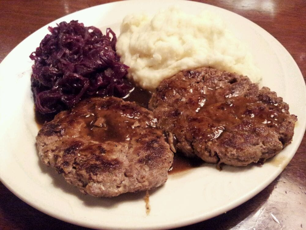 Rail Steak House - Selma, CA, United States. Frikadeller: ground beef ...