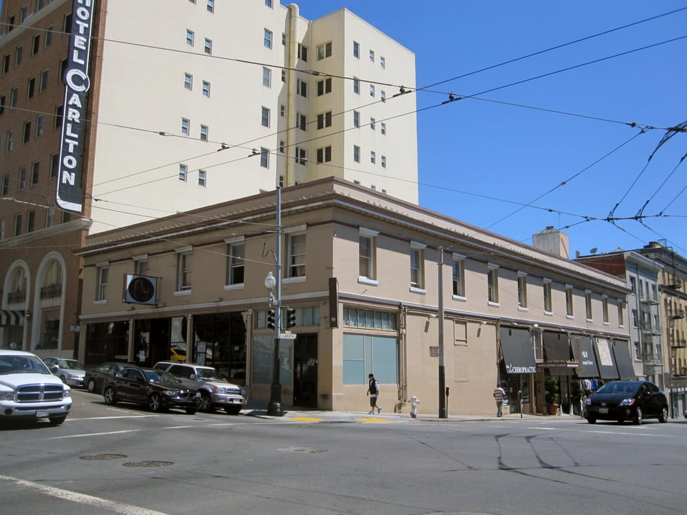 Sutter larkin hotel hotels lower nob hill san for Nob hill motor inn san francisco ca 94109