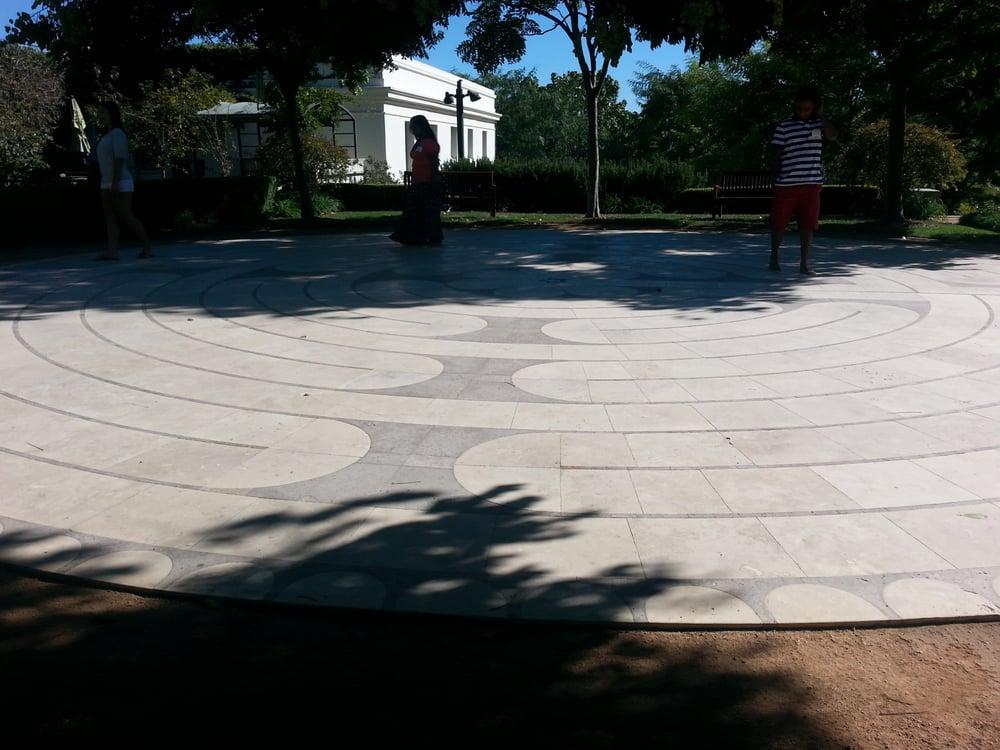 Peace Awareness Labyrinth Gardens Botanical Gardens Los Angeles Ca Yelp