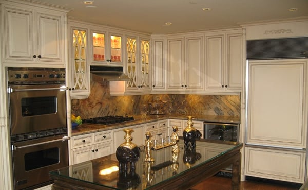 Custom kitchen cabinets birch painted cabinets yelp for Birch kitchen cabinets review