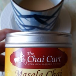 The Chai Cart - Added a little bit of condensed milk for some great chai - San Francisco, CA, Vereinigte Staaten