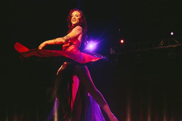 ruby revue burlesque show dallas texas event cdcca