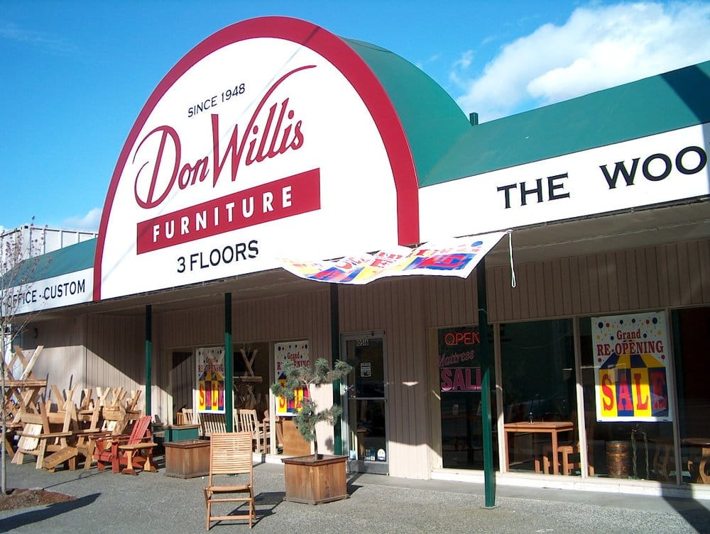 Don willis furniture furniture stores seattle wa for Furniture stores in the states