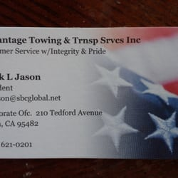 Advantage Towing & Transportation Services, Inc - Ukiah, CA, Vereinigte Staaten