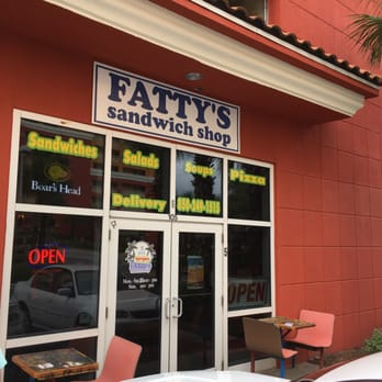 Fatty S Sandwich Shop  Panama City Beach Fl