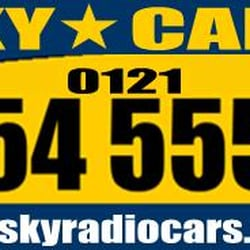 Sky Radio Cars, Birmingham, West Midlands
