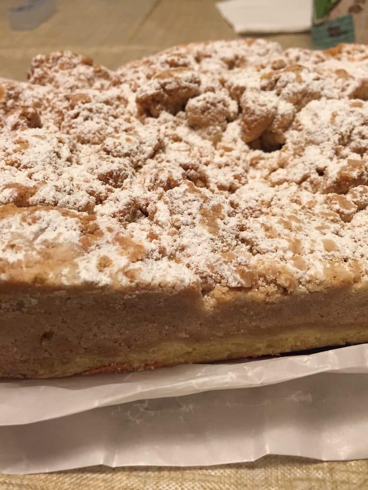 Hackensack Bakery Crumb Cake