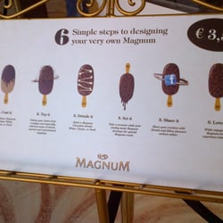 Magnum experience pop up store ijs frozen yogurt for Magnum pop up store