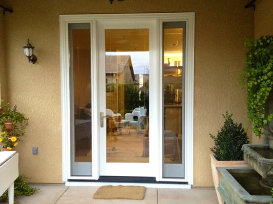 Milgard Ultra French Door with Operable Sidelights : Yelp