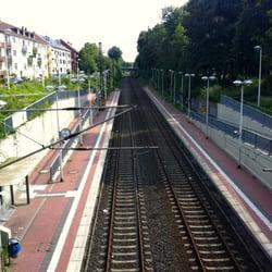 Bahnhof Essen Süd - Blick von der…