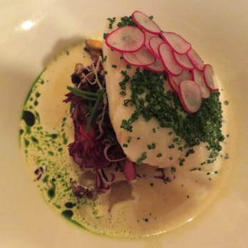 Hake - Beautifully presented... and delicious too!