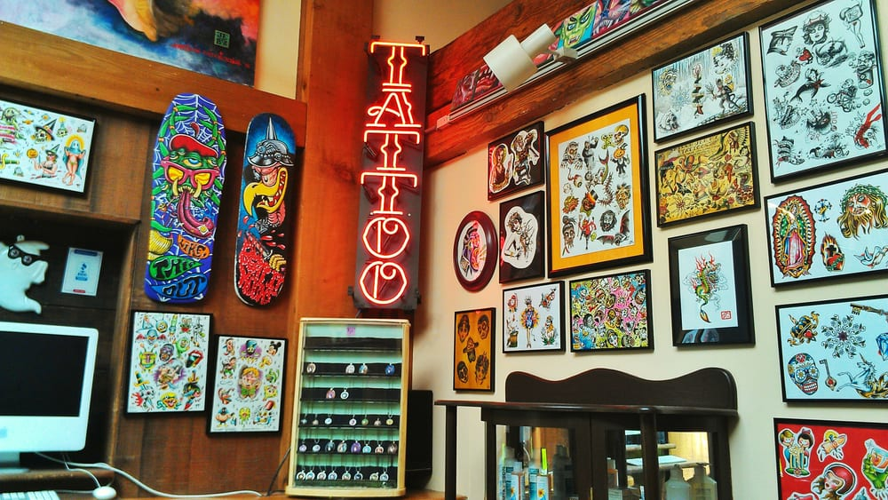 Mission ink tattoo piercing 150 photos tattoo for Open tattoo shops near me