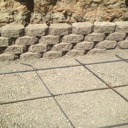 H&J Landscaping Services - Fremont, CA, United States. stone retaining wall