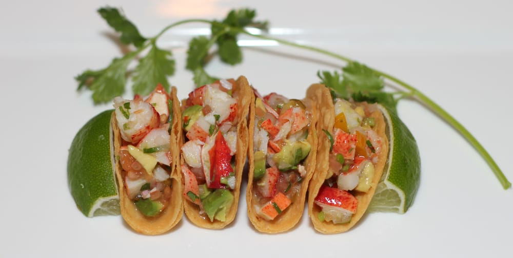 2012 summer specials lobster cilantro lime mini tacos for Asian cuisine sudbury