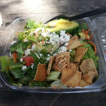 California Chicken Cafe - California Chicken Salad - Santa Monica, CA ...