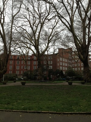 Ebury Square Gardens, London