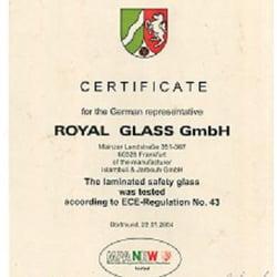 Royalglass GmbH, Frankfurt am Main, Hessen